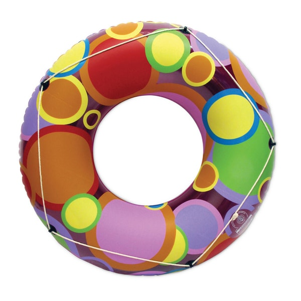48 Inch Bright Color Circles Pool