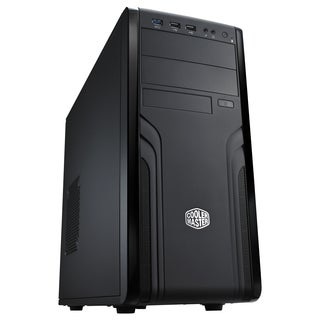Cooler Master Force 500 - Mid Tower Computer Case with 500W PSU and D