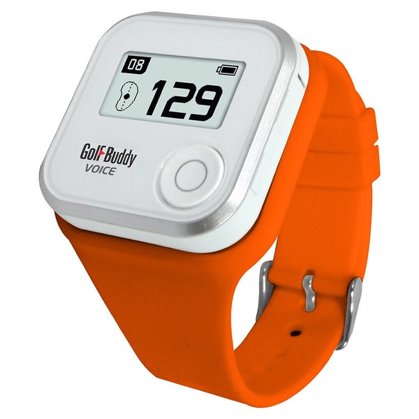 Golf Buddy Orange Wristband for Voice Golf GPS