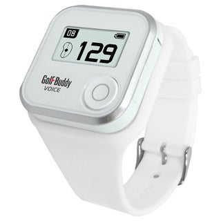 Golf Buddy White Wristband for Voice Golf GPS