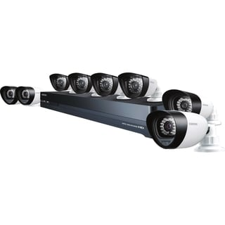 Samsung SDH-P5080 16 Channel HDTV Hybrid DVR Security System