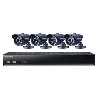 Samsung SDS-V4041 8 Channel DVR Security System