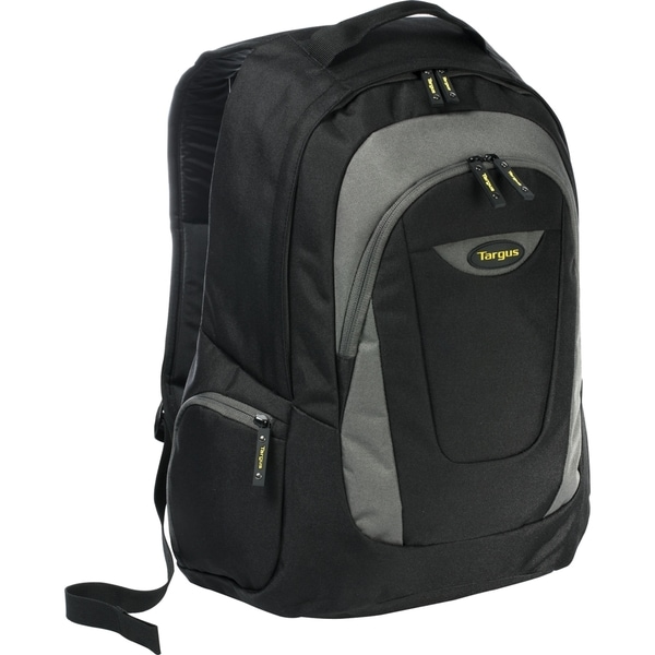 "Targus Trek Carrying Case (Backpack) for 16"" Notebook - Black, Yellow"