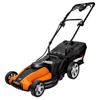 Worx 17-inch Cordless Electric Powered Push Lawn Mower