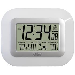 Digital Atomic Wall Clock with Solar Sensor
