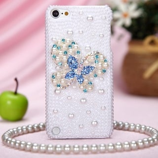 BasAcc Butterfly Diamante Case for Apple iPod Touch 5th Generation