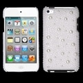 BasAcc White Pearl Diamante Case for Apple iPod Touch 4th Generation