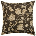 Lindo Charcoal 17-inch Outdoor Throw Pillows (Set of 2)