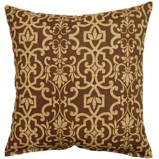 Vanya Taupe 17-inch Indoor/Outdoor Throw Pillows (Set of 2)