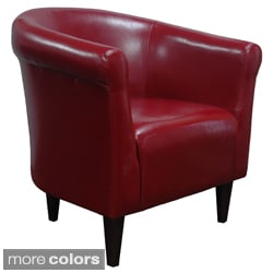 Savannah Leatherette Club Chair