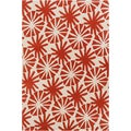 Mandara Hand-tufted Transitional Floral Wool Rug (5' x 7'6)