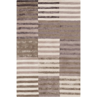 Mandara Hand-tufted Stripes Rug (5' x 7'6)