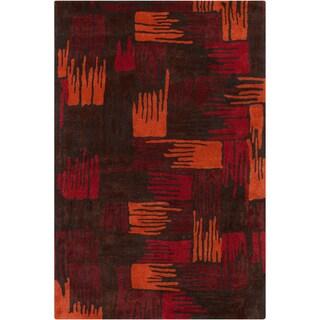Mandara Hand-tufted Abstract Wool Rug (5' x 7'6)
