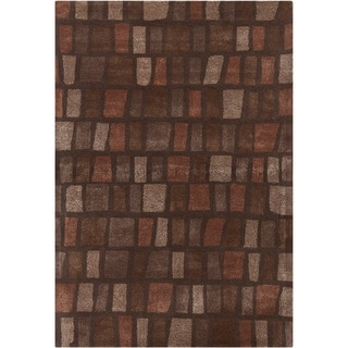 Mandara Hand-tufted Abstract Rug (7'9 x 10'6)