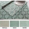 Mandara Handmade Abstract Pattern Flat-weave Wool/ Cotton Area Rug (7' x 10')