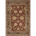 Safavieh Hand-made Persian Legend Rust/ Navy Wool Rug (7'6 x 9'6)