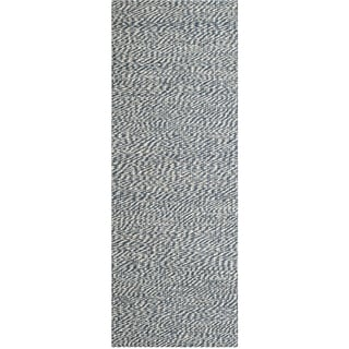 Safavieh Natural Fiber Blue/ Ivory Sisal Sea Grass Rug (2'6 x 10')