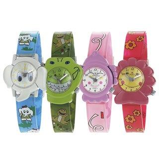 Geneva Platinum Girl's Silicone Character Theme Watch