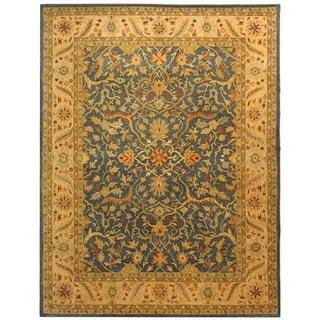 Safavieh Handmade Antiquity Blue Wool Rug (11' x 15')