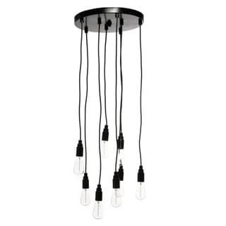 8-light Edison Bulb Chandelier