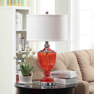 Eva Red Table Lamp
