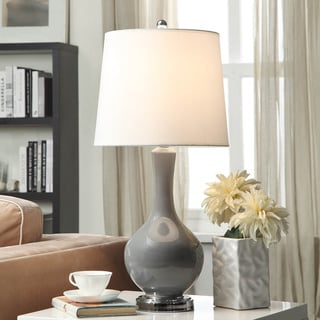 Auva Grey Table Lamp