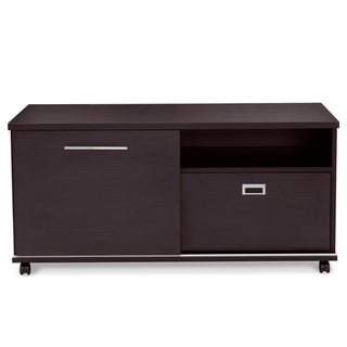 Jesper Office Mobile Side Cabinet with Sliding Door