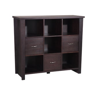 J & K Sonoma Collection 3-drawer Storage Bookcase