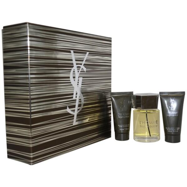 Yves Saint Laurent 'L'Homme' Men's 3-piece Fragrance Gift Set