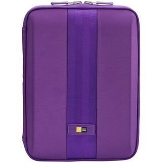 "Case Logic QTS-210 Carrying Case (Sleeve) for 10.1"" iPad, Tablet - Pu"