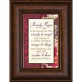 James Lawrence 'Serenity Prayer' Mini Framed Wall Art
