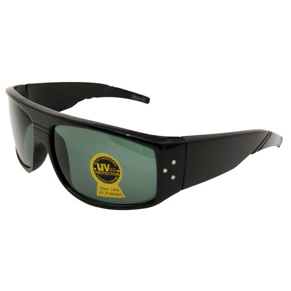 Stealth Black Unisex Square Sunglasses