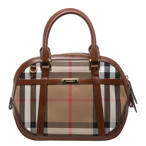 Burberry Bridle House Check Small Orchard Satchel