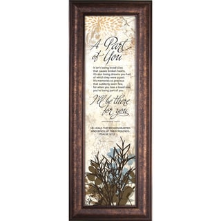 James Lawrence 'A Part Of You - There For You' Framed Wall Art