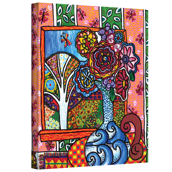 Debra Purcell 'Ventana' Gallery-Wrapped Canvas