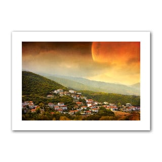 Dragos Dumitrascu 'Red Dawn' Unwrapped Canvas