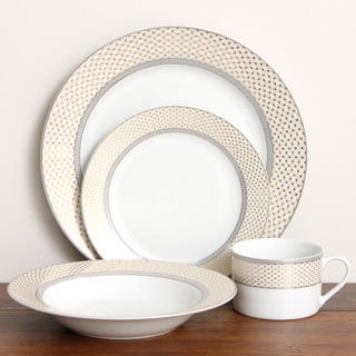 American Atelier 'Buckingham' 20-piece Porcelain Dinnerware Set
