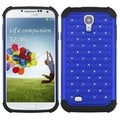 BasAcc Dark Blue/ Black TotalDefense Case for Samsung Galaxy S IV/ S4