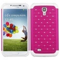 BasAcc Hot Pink/ White TotalDefense Case for Samsung Galaxy S IV/ S4