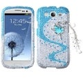 BasAcc Ballerina Chain 3D Diamante Case for Samsung Galaxy S III/ S3