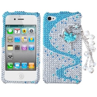 BasAcc Ballerina Chain 3D Diamante Case for Apple iPhone 4/ 4S