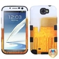 BasAcc Beer-Food Fight TUFF Hybrid Case for Samsung Galaxy Note 2/ II