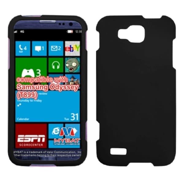 INSTEN Black Phone Case Cover for Samsung T899 Odyssey