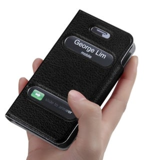 INSTEN Black Wallet Phone Case Cover for Apple iPhone 4/ 4S