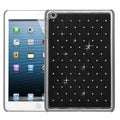 BasAcc Black/ Silver Lattice Case with Diamonds for Apple iPad Mini