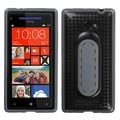 BasAcc Black Snap Tail Stand Case for HTC Windows Phone 8X