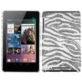 BasAcc Black Zebra Diamante Back Case for Google Nexus 7