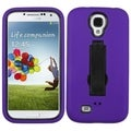 BasAcc Black/ Purple Symbiosis Stand Case for Samsung Galaxy S 4G