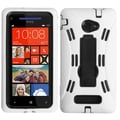 BasAcc Black/ White Symbiosis Stand Case for HTC Windows Phone 8X