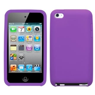 INSTEN Electric Purple iPod Case Cover for Apple iPod Touch 4
